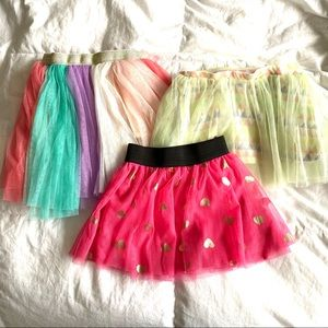 Lot Of 3 Tutus Kids Korner Epic Threads 2T
